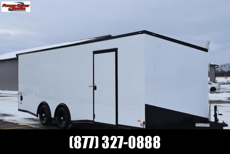 BRAVO 8.5x22 SCOUT *MIDNIGHT EDITION* ENCLOSED CAR HAULER