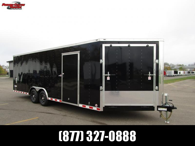 2020 BRAVO STAR 8.5x27 COMBO SNOWMOBILE/CAR HAULER