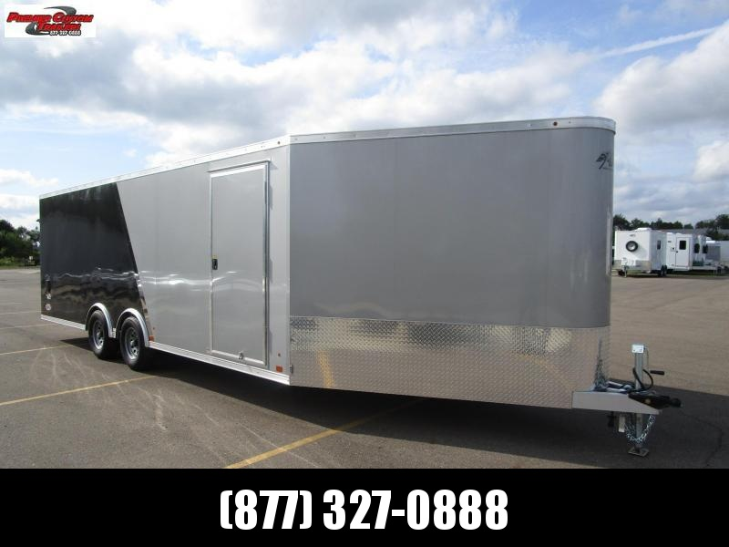 ATC 22+6' ALLSPORT ALL ALUMINUM CAR/SNOWMOBILE HAULER