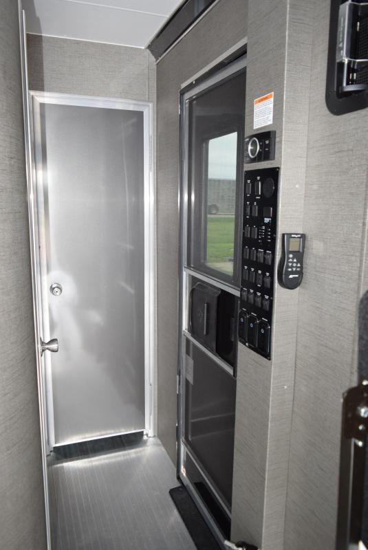 2020 ATC ALL ALUMINUM 8.5x28 TOY HAULER w/ FRONT BEDROOM