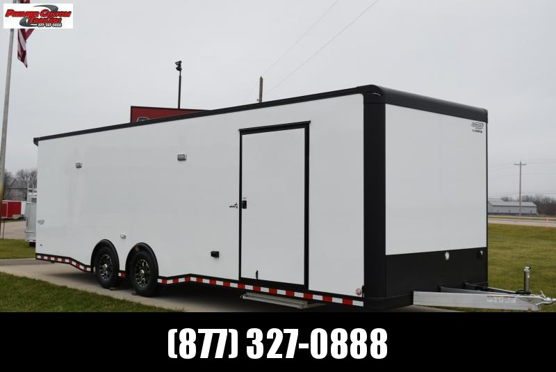 BRAVO 28' STP ALL ALUMINUM RACE TRAILER