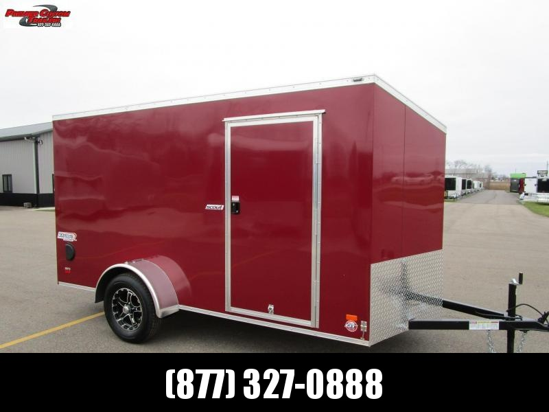 2021 BRAVO 6x12 ENCLOSED CARGO TRAILER