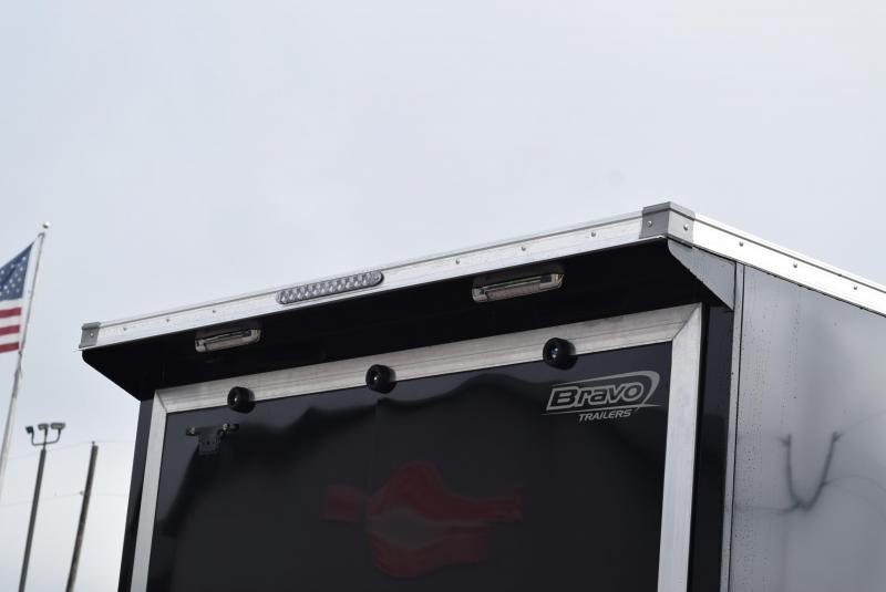 BRAVO 18'+5' SILVER STAR ALUMINUM SNOWMOBILE/UTV TRAILER