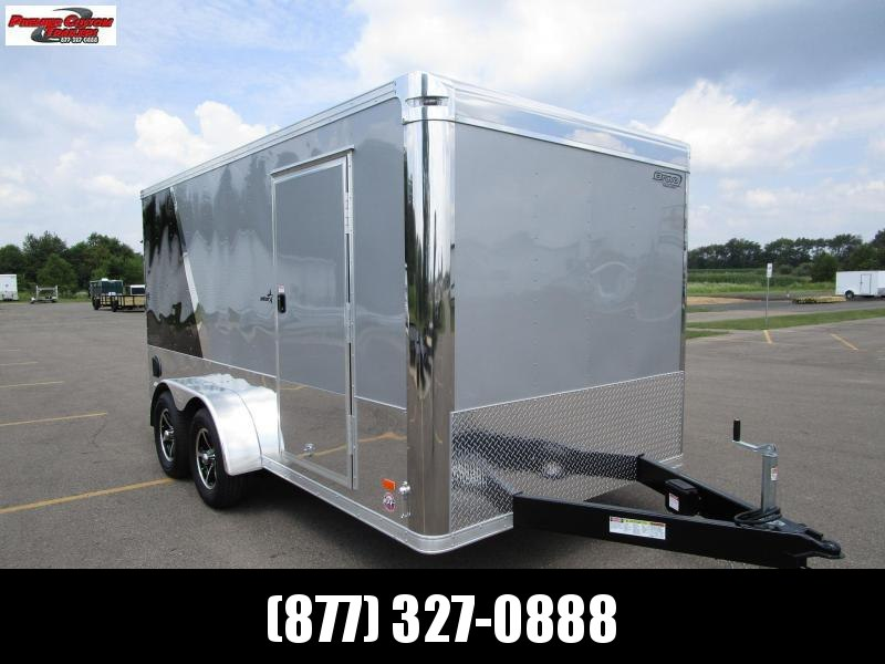 BRAVO STAR 7x14 ENCLOSED MOTORCYCLE TRAILER