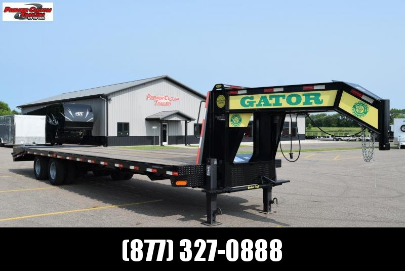 2020 GATORMADE 25+5 TANDEM DUAL ELITE GOOSENECK HEAVY EQUIPMENT TRAILER