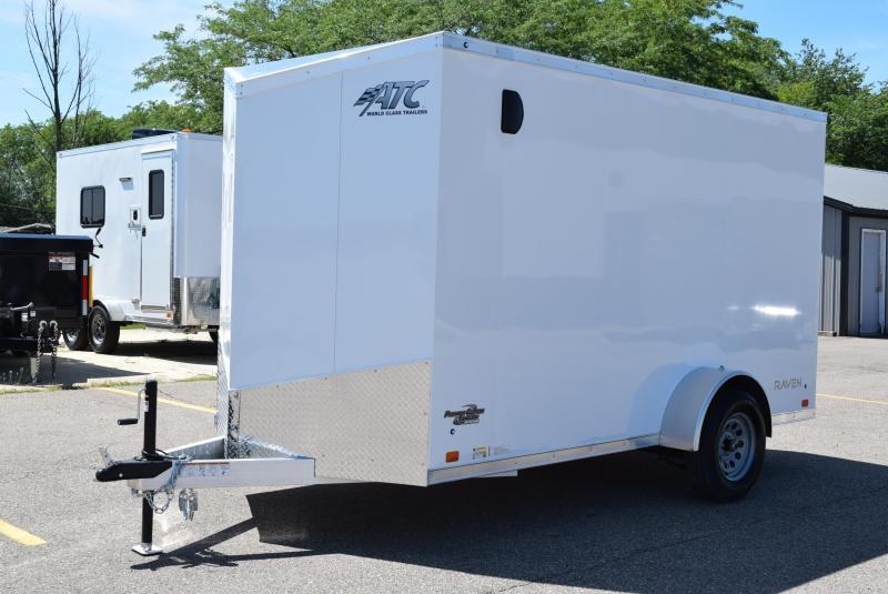 ATC 6x12 RAVEN LIMITED ALUMINUM CARGO TRAILER