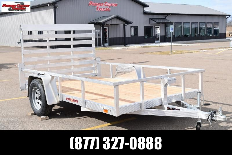 2021 SPORT HAVEN 6x10 OPEN UTILITY TRAILER
