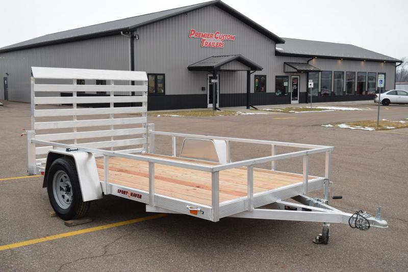 SPORT HAVEN 6x10 OPEN UTILITY TRAILER