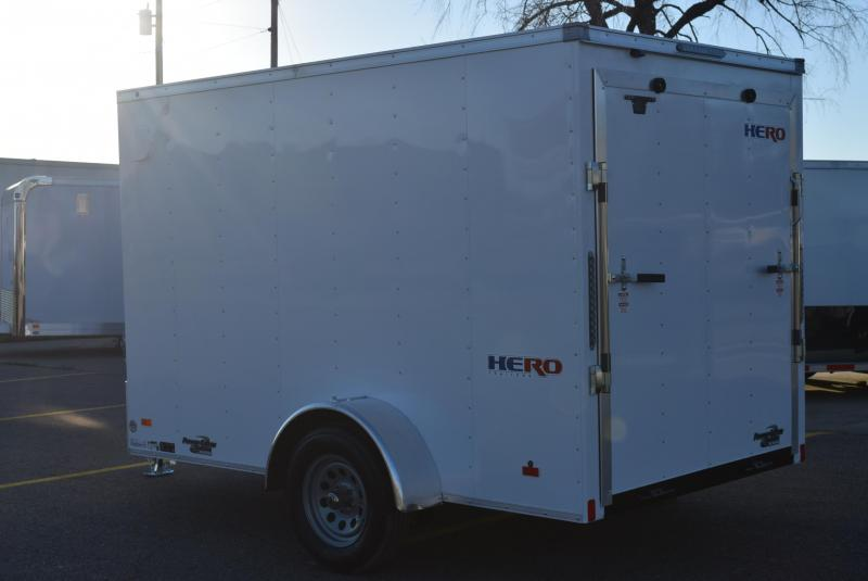 BRAVO HERO 6x10 ENCLOSED CARGO TRAILER