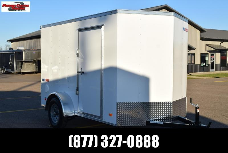 2021 BRAVO HERO 6x10 ENCLOSED CARGO TRAILER