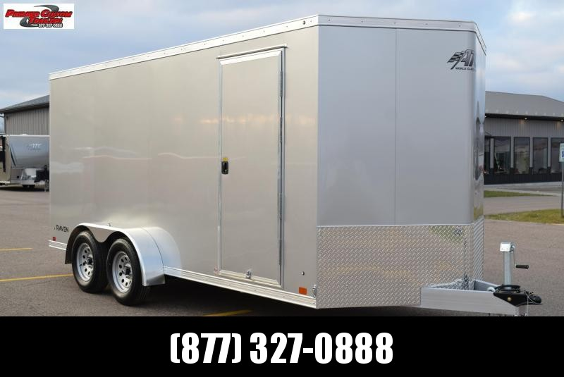 ATC ALL ALUMINUM 7x16 RAVEN ENCLOSED CARGO TRAILER