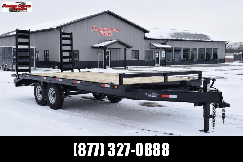 2020 GRIFFIN 20' DECKOVER EQUIPMENT HAULER w/14k GVW