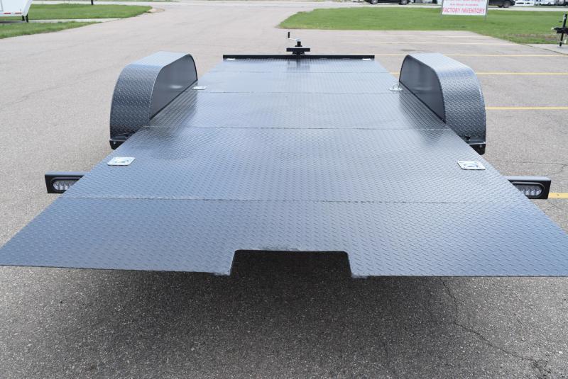 NATION 18' TILT BED OPEN CAR HAULER w/ 5200# AXLES