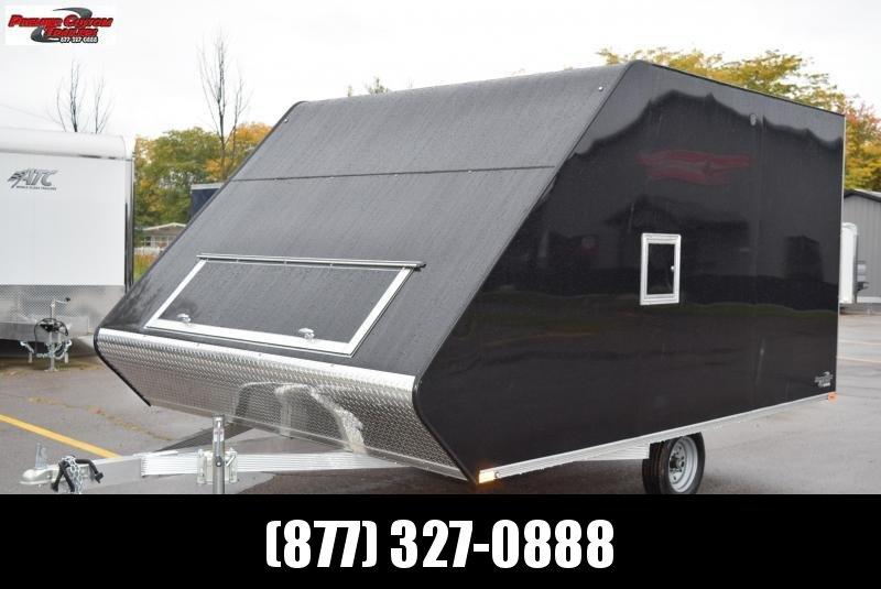 2021 SPORT HAVEN 13' HYBRID ENCLOSED SNOWMOBILE TRAILER