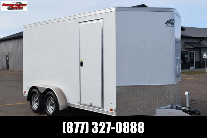 ATC 7x14 RAVEN ALUMINUM ENCLOSED CARGO TRAILER