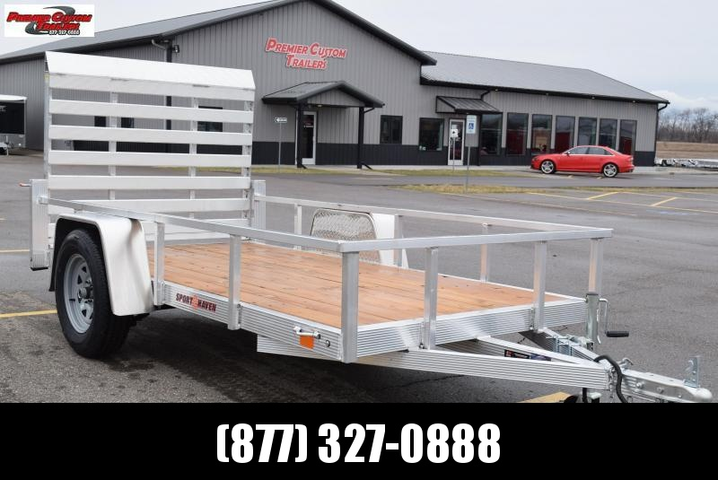 2021 SPORT HAVEN 5x10 OPEN UTILITY TRAILER