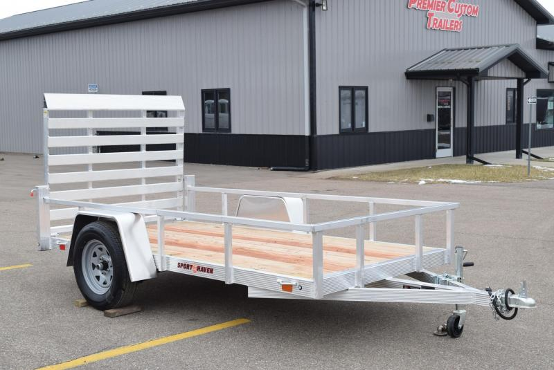 SPORT HAVEN 5x10 OPEN UTILITY TRAILER