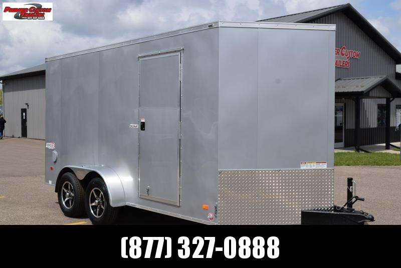 BRAVO 7x14 SCOUT CARGO TRAILER W/ BEAVERTAIL FLOOR