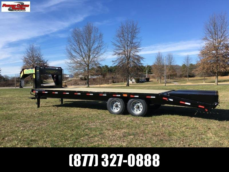 GATORMADE 20+5 TANDEM 8K AXLE ELITE GOOSENECK HEAVY EQUIPMENT TRAILER