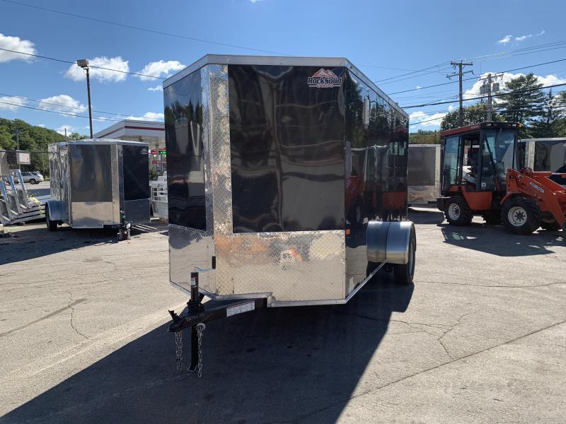 2021 Rock Solid Cargo 6x12SA Enclosed Cargo Trailer