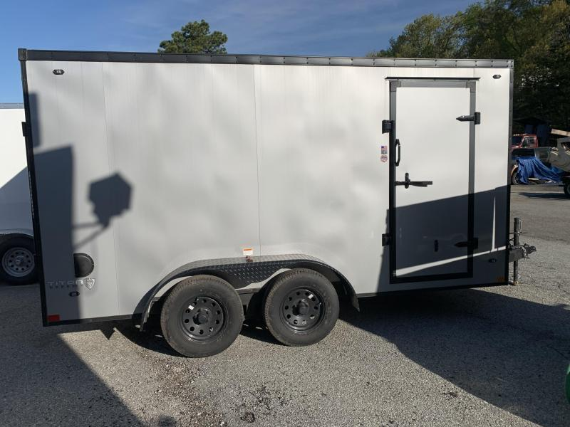 2020 Stealth Trailers Titan 7x14 Black Out Enclosed Cargo Trailer Enclosed Cargo Trailer