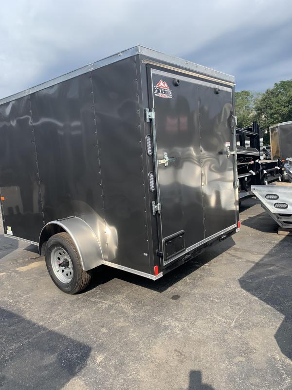 2021 Rock Solid Cargo 6x10SA Enclosed Cargo Trailer