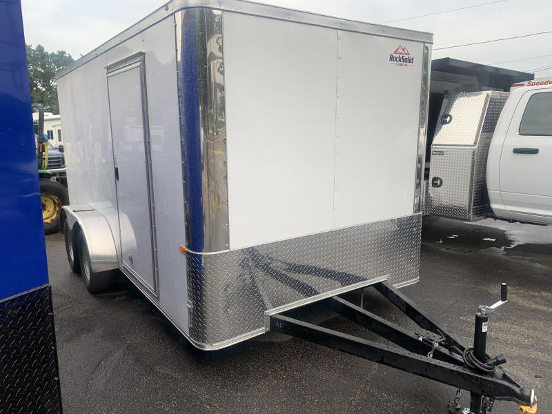2020 Rock Solid Cargo 7x14 Landscaper Enclosed Cargo Trailer