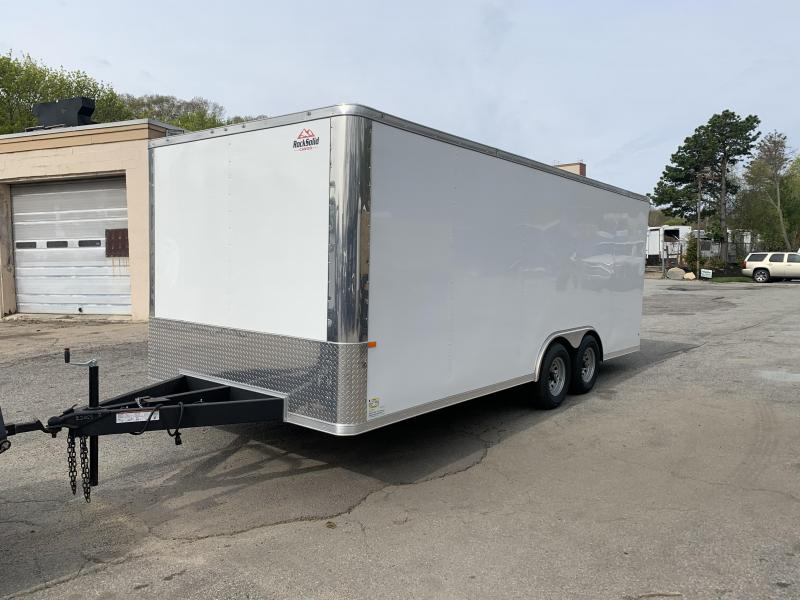 2020 Rock Solid Cargo 8.5X20TA Enclosed Cargo Trailer