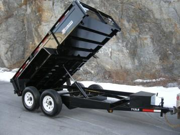 2020 Bri-Mar DT712LPLE Dump Trailer