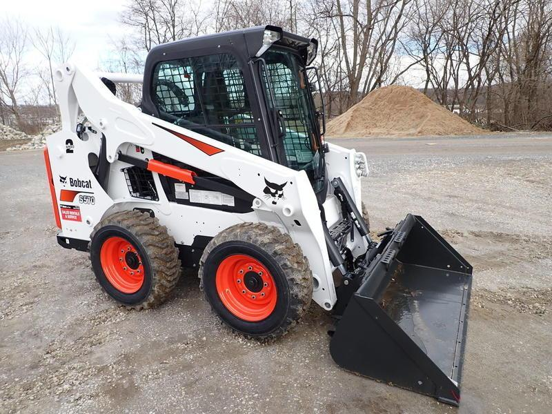 2019 Bobcat s570 Construction