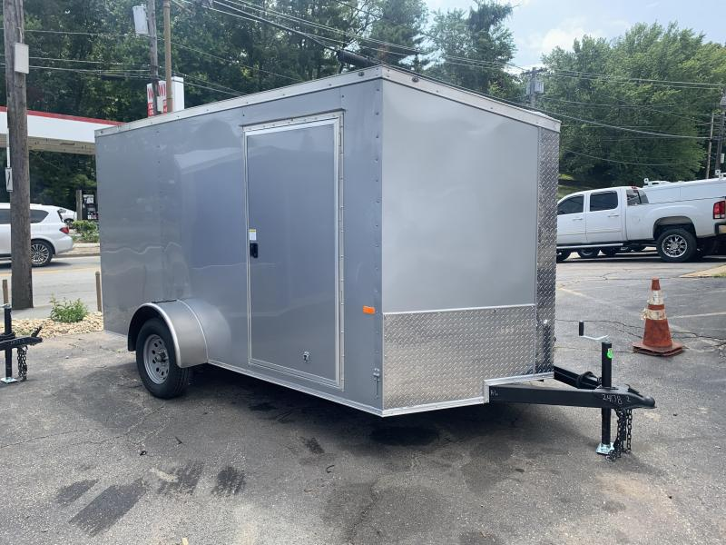 2021 Rock Solid 7x12 Enclosed Cargo Trailer