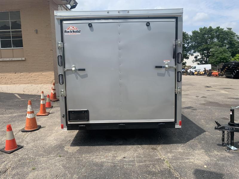 2021 Rock Solid 7x12 Enclosed Cargo Trailer