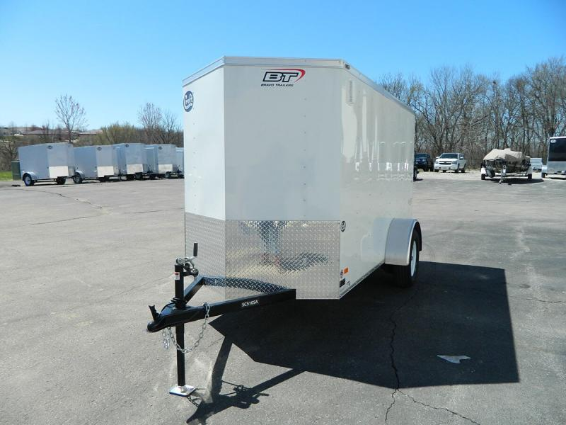 2020 Bravo 5'x10' Enclosed w/ Rear Barn doors