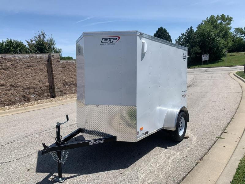 2021 Bravo 5'x8' Enclosed w/ Rear Barn Door