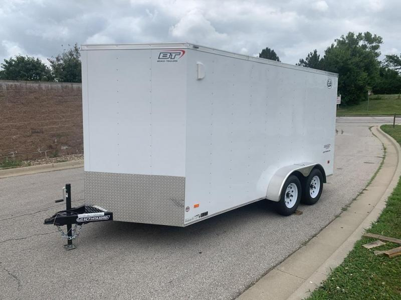 2021 Bravo 7'x14' Enclosed w/ Ramp Door