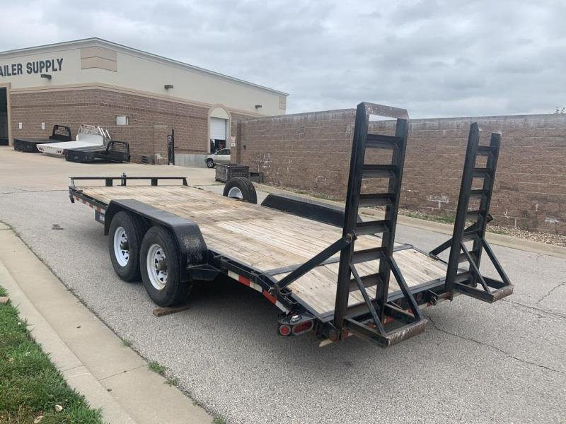 USED 2015 Sure-Trac 18' 14K Equipment Trailer