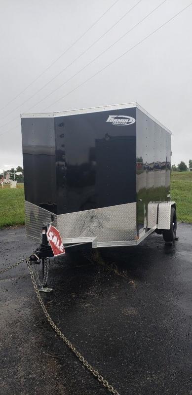 *USED* 2020 6'x10' Formula Conquest Enclosed Cargo Trailer