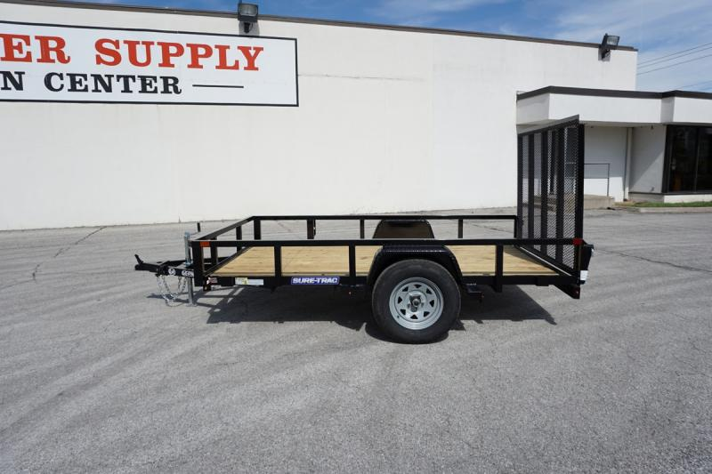 2020 Sure-Trac 6'x10' Tube Top Utility Trailer