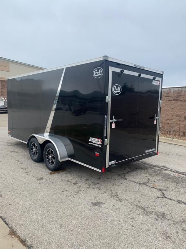 2020 Bravo 7'x16' SS Enclosed w/ Ramp Door
