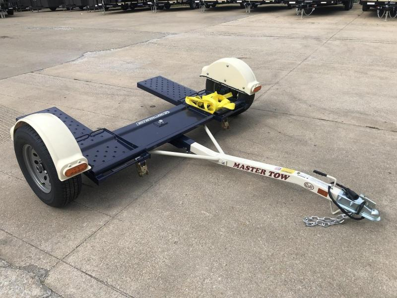 """2021 Master Tow 80"""" Car Dolly - Electric Brakes"""