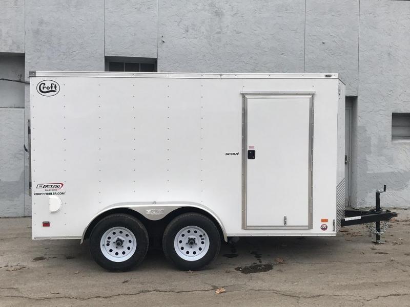 2021 Bravo 6'x12' Enclosed w/ Ramp Door