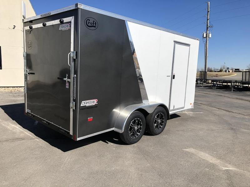 2020 Bravo 7'x14' SS Enclosed w/ Ramp Door