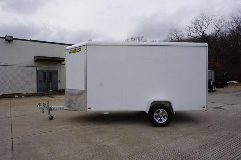 Aluma 6'x12' Single Axle Enclosed w/ Ramp Door
