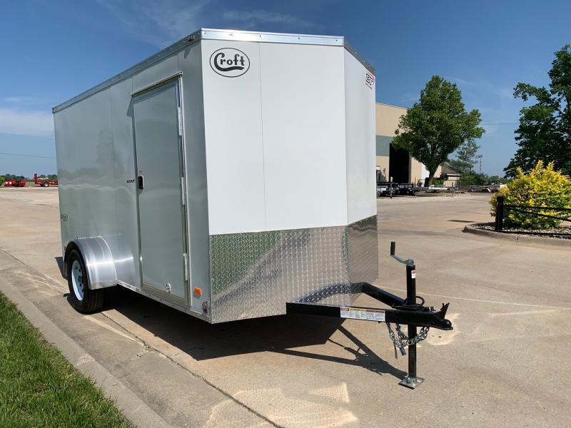 2020 Bravo 6'x12' GT Enclosed w/ Ramp Door