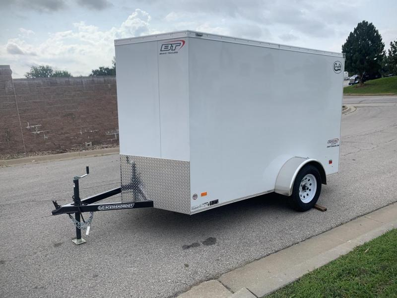 2020 Bravo 6'x10' GT Enclosed w/ Ramp Door