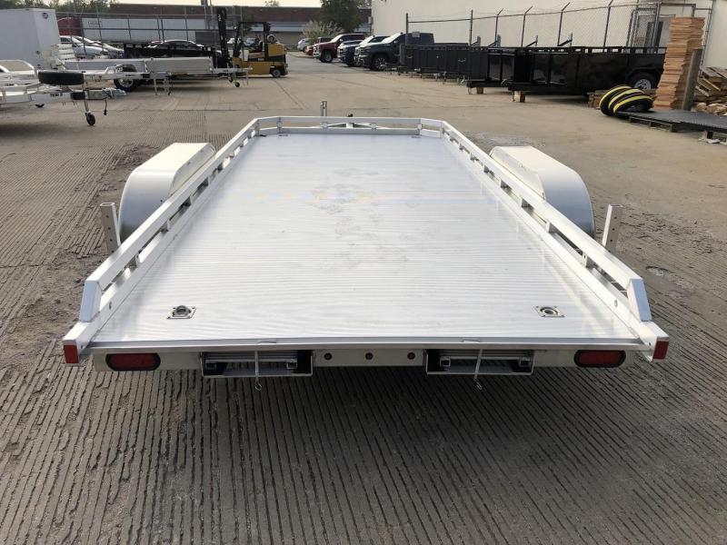"2021 Aluma 78""x16' Flatbed Utility Trailer - 7k"