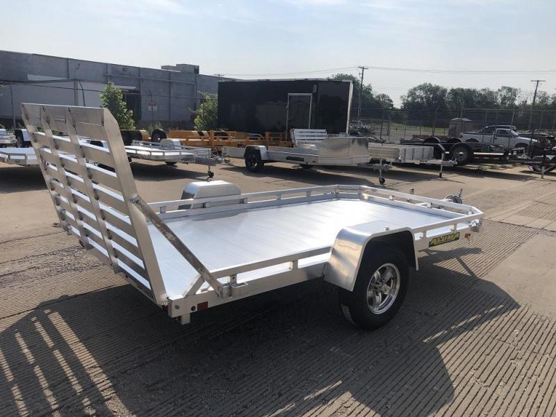 "2021 Aluma 77""x12' Aluminum Utility Trailer - 3.5K"