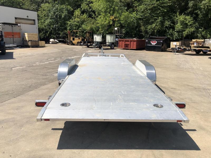 """USED 2020 Aluma 82""""x18' Tilt Bed Car Hauler - 7k"""