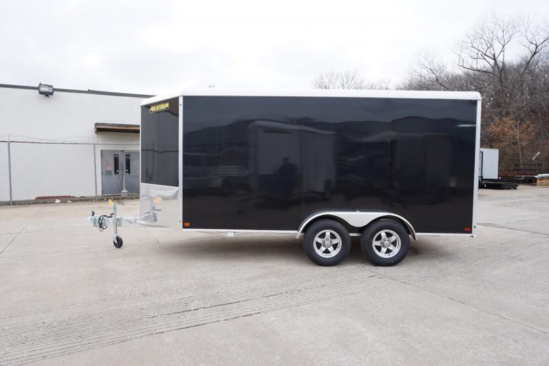 Aluma 7'x14' Tandem Axle Enclosed w/ Ramp Door