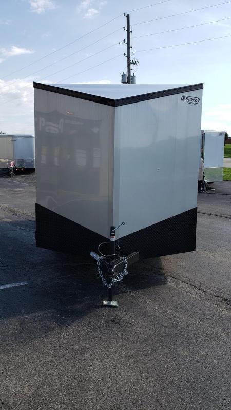 2020 Bravo 7'x14' MN Enclosed w/ Ramp Door - MIDNIGHT EDITION!
